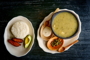 Colombian Ajiaco Soup