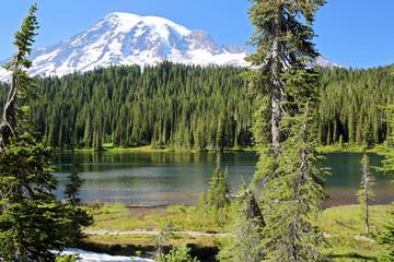 Scenic Mount Rainier