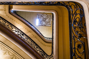 Escaliers de l'Opéra de Vichy