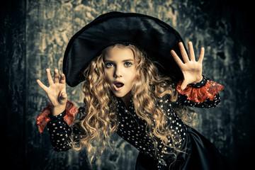 scary little girl