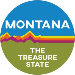 montana: the treasure state | digital badge