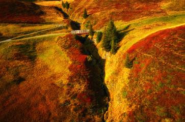 Autumn Alpine landscape, Switzerland