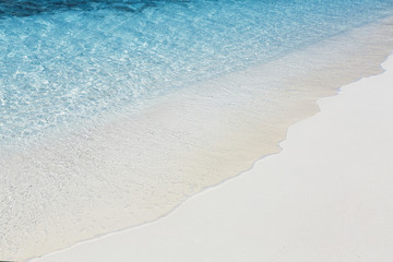 Close-up of a tropical beach, Maldives