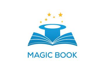 MAGIC BOOK LOGO DESIGN