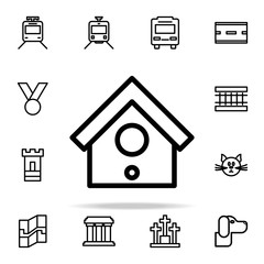 birdhouse icon. web icons universal set for web and mobile