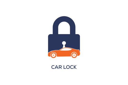 CAR LOCK LOGO DESIGN