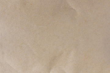 Brown paper closeup texture or background