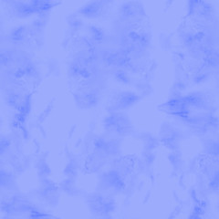 Abstract paint blue watercolor seamless texture hand painted background