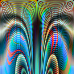 Abstract image, colorful graphics,can be used as a template for tapestry