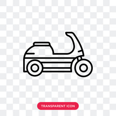 Delivery vector icon isolated on transparent background, Delivery logo design