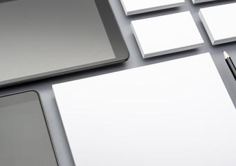 Corporate identity and web design template