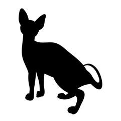 cat silhouette icon
