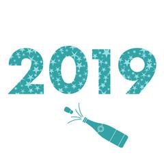 2019 New Year card.