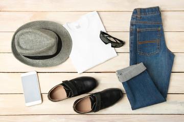 Men's autumn clothes