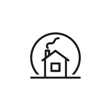 Snow globe icon. Decoration, house, souvenir. Christmas concept. Vector illustration can be used for topics like New Year, holiday, celebration