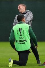 Europa League - Celtic Training