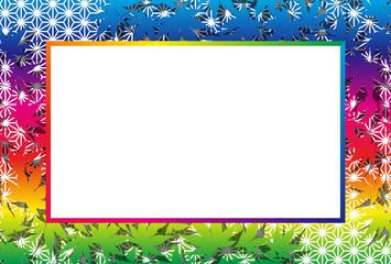 背景素材壁紙,フォトフレーム,秋のイメージ,椛の木,和風,タイトルスペース,落葉,枯葉,紅葉,自然,
