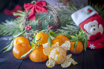 tangerines for the new year