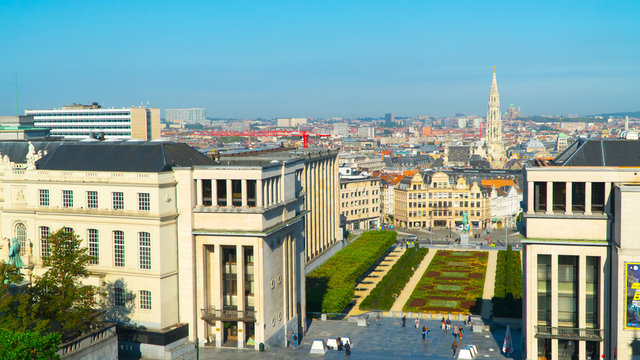 Brussels beautiful views of the city.