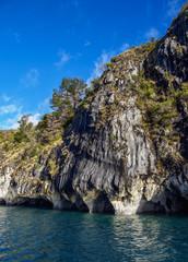 Marble Caves, Santuario de la Naturaleza Capillas de Marmol, General Carrera Lake, Puerto Rio Tranquilo, Aysen Region, Patagonia, Chile