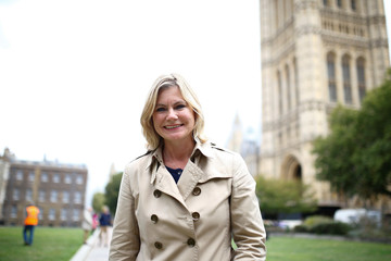 Justine Greening MP poses for a photo in central London