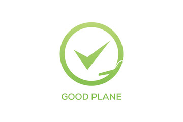 GOOD PLANE LOGO DESIGN