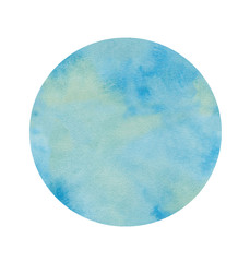 circle water color illustration