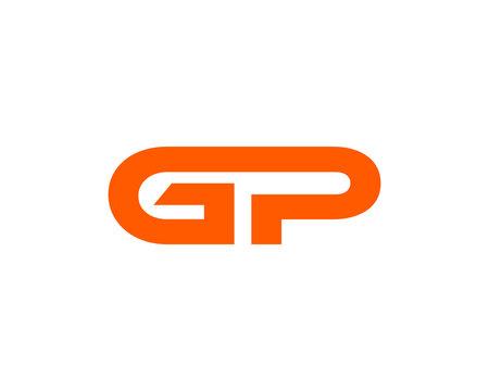 GP company group linked letter logo