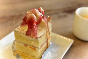 いちじくのケーキ