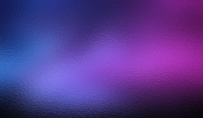 Violet blue silver foil texture background Wall mural