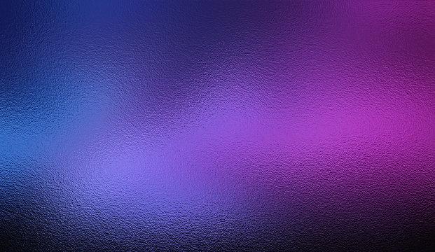 Violet blue silver foil texture background