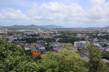 panoramic view of the Phuket city