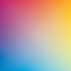 Abstract blurred vector color background