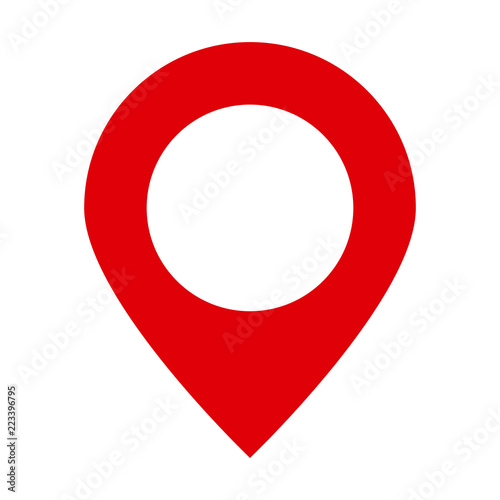 """Site Map Icon: """"Maps Pin. Location Map Icon. Location Pin. Pin Icon Vector."""" Stock Image And Royalty-free"""