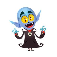 Cartoon Vampire character illustration clipart