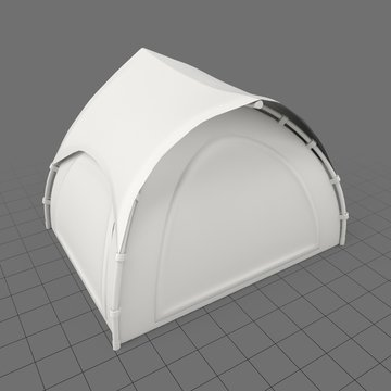 Rounded tent