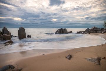 Bintan Island Rock Formation and Clean Sea wonderful Indonesia