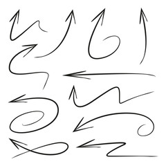 sketch and hand drawn arrows