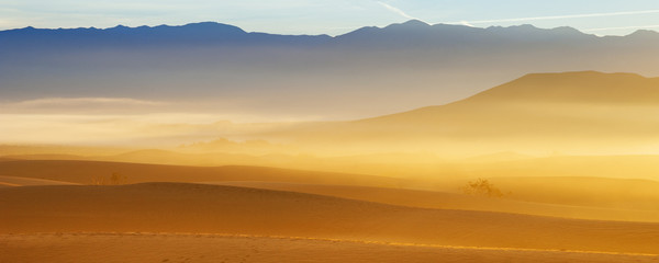 Desert Sand Dunes, Death Valley, USA