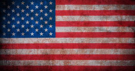 Old Flag of USA