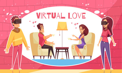 AR Virtual Love Background
