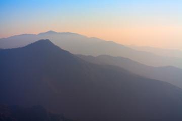 Peaceful Sierra Mountains