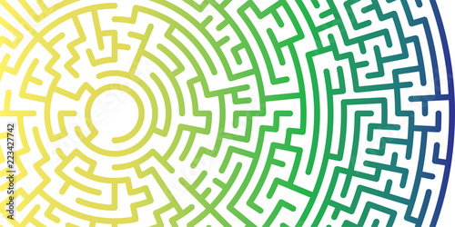 Background With Graphic Abstract Geometry Labyrinth Pattern Fascinating Labyrinth Pattern