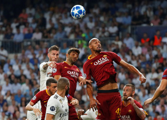Champions League - Group Stage - Group G - Real Madrid v AS Roma