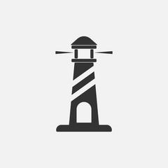 Lighthouse Icon.Vector Illustration