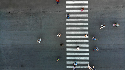 Pedestrian crosswalk background