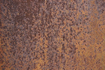 texture of rusty metal background