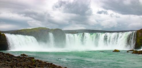 Godafoss, Islande, berühmter Wasserfall in Island