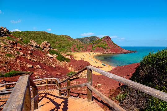 Cala El Pilar, Menorca, Balearic Islands, Spain