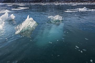Most of the Iceberg is Underwater